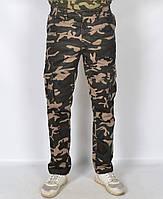 """Камуфляжні чоловічі штани в стилі мілітарі """"Loshan"""""""