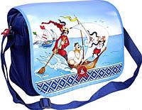 Необыкновенная горизонтальная сумка на плечо ЯкКозаки 8 л Cool for school KZ01854, синий