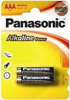 Елемент живлення (батарейка) Panasonic ALKALINE POWER LR3 (AAA)