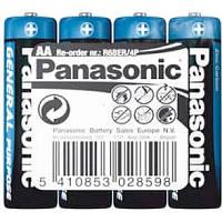 Елемент живлення (батарейка) Panasonic GENERAL PURPOSE CARBON LR6 (AA)