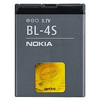 Аккумулятор для nokia BL 4S 2680, 3600, 3710, 7020, 7100, 7610, X3-02 копия