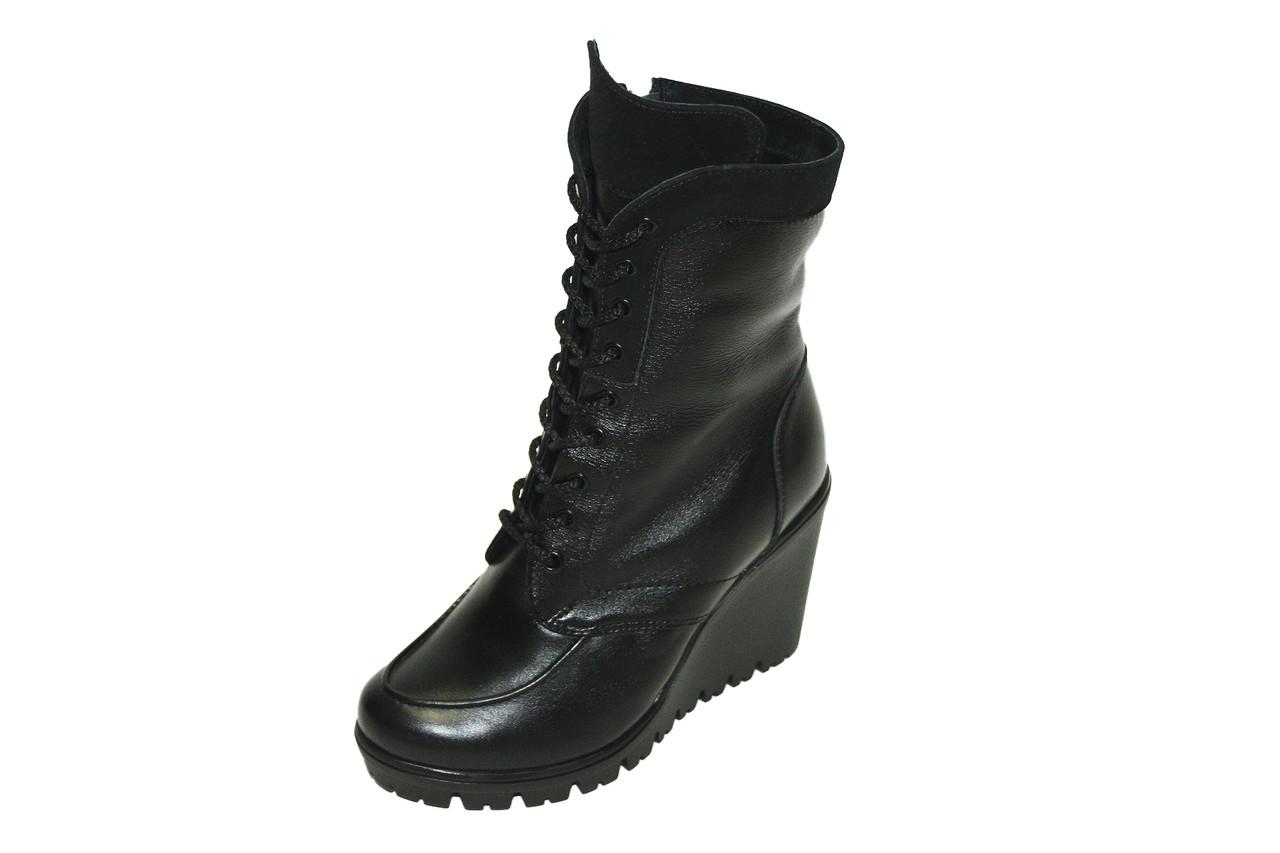 Сапоги зимние Oscar Fur черные 1750чх Черный