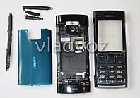 Корпус для Nokia X2 00 чёрный со средней частью с клавиатурой 2A