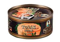 Тунец в масле Franz Josef Tuna Steak in sunflower oil 170h.