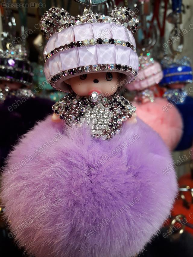 Модная кукла брелок