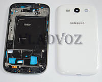 Корпус для Samsung Galaxy s3 i9300 белый + клавиатура AAA