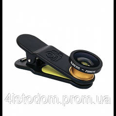 Black Eye Fisheye, линза на телефон, объектив на смартфон.