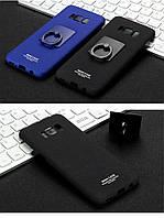 Пластиковый чехол Imak с кольцом-подставкой для Samsung S8 Plus  (2 цвета)
