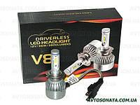 Светодиодные лампы H7 PULSO V8 12-24V 36W LED PX26d 2*280° Flip Chip /3800Lm/6000K