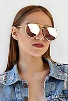 Cолнцезащитные женские очки розовые (GENTLEMONSTER9019_C9)