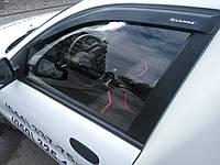 Ветровики — дефлекторы окон DAEWOO Lanos 2d передние (на скотче)