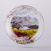 Декоративная тарелка Осенний пейзаж 20 см 85-1229