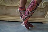Женские летние сапожки с открытым носком и пяткой, фото 2