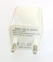 Адаптер Кубик 220V 2 USB Charger 2.1A!Опт, фото 2