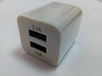 Адаптер Кубик 220V 2 USB Charger 2.1A!Опт, фото 3