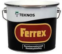 ФЕРРЕКС антикоррозионная краска для стальных поверхностей внутри и снаружи помещений