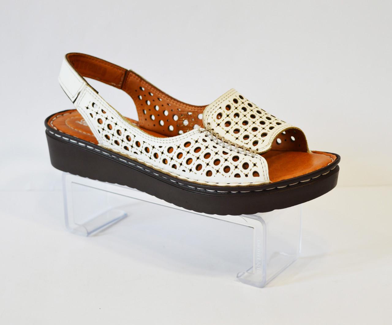 Босоонжки женские кожаные La Vita Bella 3414