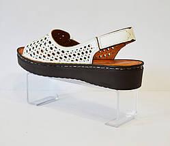 Босоонжки женские кожаные La Vita Bella 3414, фото 3