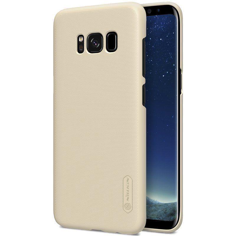 Чехол Nillkin Matte для Samsung G955 Galaxy S8 Plus Золотой