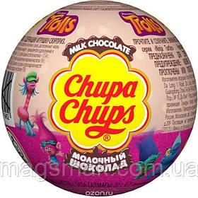 "Шоколадный шар (яйцо) c сюрпризом ""Chupa Chups"", Choco ballls Тролли"