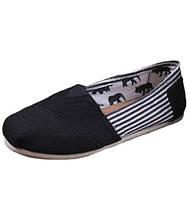 Мужская обувь Toms Classic White/Black
