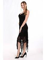 Шикарное красивое коктейльное платье из ажурной ткани. Разные цвета и размеры. Розница, опт в Украине.