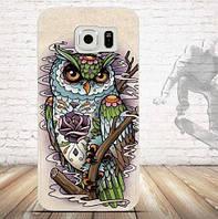 Силиконовый чехол бампер с рисунком для Samsung S6 Duos Galaxy G9200