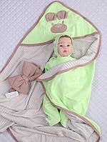 """Летний комплект для новорожденного """" Маленький мишутка"""""""