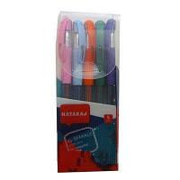 Набір гелевих ручок з блиском Nataraj Itip Sparkle (1мм) асорті 5 шт/уп 213553016