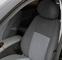 Чехлы салона Chrysler Voyager (2000-2007) (7 мест) Серые
