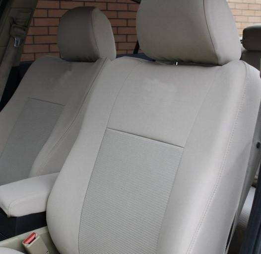 Чехлы салона Chevrolet Captiva (2006-2011) Бежевые