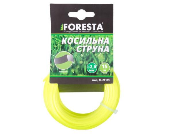 Лісочка для тріммера Foresta TL-2415S 2.4 мм квадратна