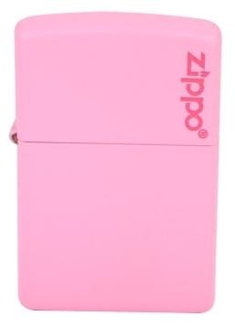 Шикарная бензиновая зажигалка Zippo 238ZL PINK MATTE розовая