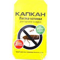 Домик-ловушка «Капкан» клеевая для тараканов и муравьев