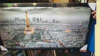 Картина Париж 50х100 см