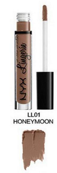 Матовая жидкая помада для губ NYX Lingerie (01 HONEYMOON)