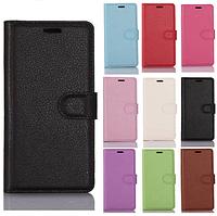 Кожаный чехол книжка Lichee для Nokia 3 (9 цветов)