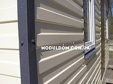 Мобильный дачный домик (6 х 3 м.), металлокаркас, вагонка, 2 окна, фото 2