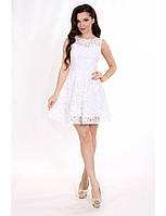 КОКТЕЙЛЬНОЕ ПЛАТЬЕ МИНИ ИЗ ГИПЮРА. Мини платье для девушек. Разные цвета и размеры. Розница, опт в Украине.