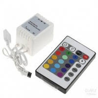 RGB контроллер для ленты 220В 550W-RF-4 (с RF пультом д/у) подкл. до 50м