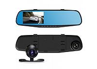 Авторегистратор зеркало с камерой заднего вида DVR 138W, фото 1