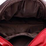 Рюкзак жіночий Мишка з вушками (червоний), фото 6
