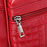 Рюкзак жіночий Мишка з вушками (червоний), фото 5