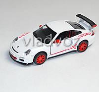 Машинка Porshe 911 GT3 RS 1:36 метал белая