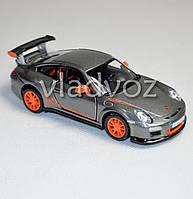 Машинка Porshe 911 GT3 RS 1:36 метал платина