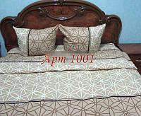 Комплект постельного БЯЗЬ оптом и в розницу, Бежевая паутинка 1001