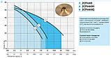 Поверхностный насос «Насосы +» 2CPm 60 H, фото 2