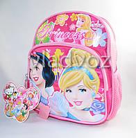 Детский рюкзак принцессы розовый