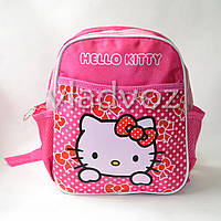 Детский рюкзак hello kitty малиновый