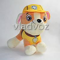 Мягкая игрушка щенок Крепыш из мультфильма Щенячий патруль 20см.